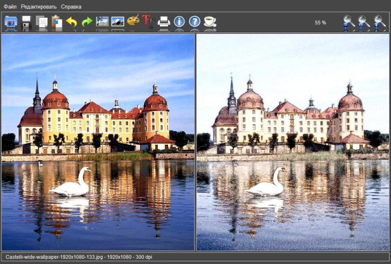 FotoSketcher 3.00 alpha3 Portable Rus