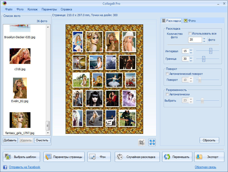 CollageIt Pro 1.9.5 Portable Rus
