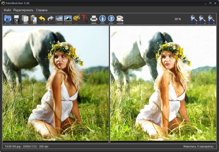 FotoSketcher 3.30  Portable Rus