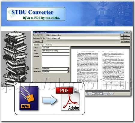 Djvu в pdf конвертер программу