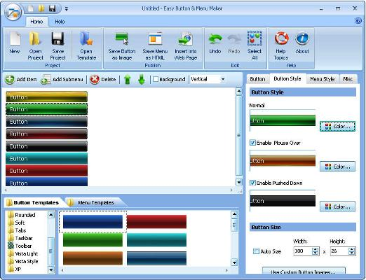 Blumentals Easy Button and Menu Maker Pro v3.6 Portable