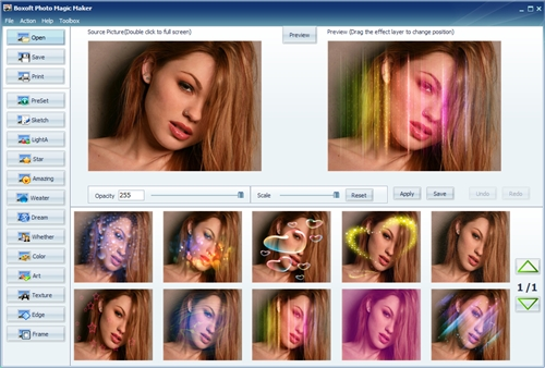 Boxoft Photo Magic Maker v 1.3.0.0