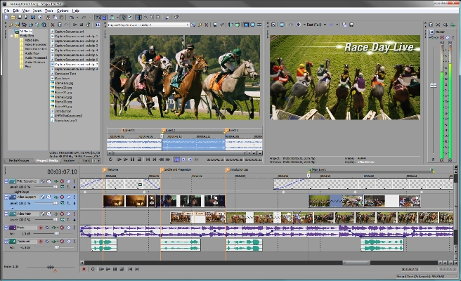 Sony Vegas Pro 10.0c Build 469 x86 Rus Portable by nz