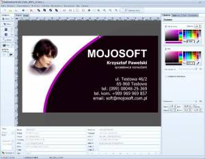 Mojosoft BusinessCards MX 4.6 Multilingual Portable