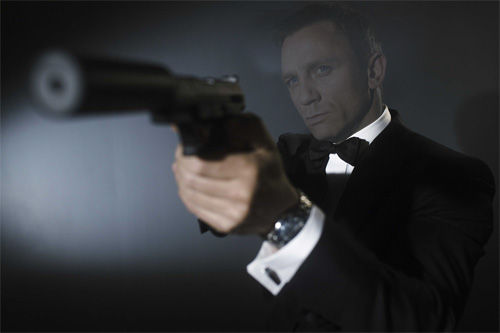 Man's template - the agent 007