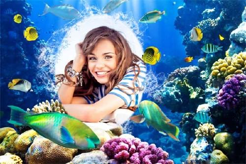 Рамка для фотошопа - Морское настроение