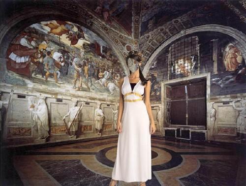 Женский шаблон - Римская дева