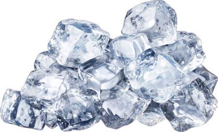 Капли, лед и вода - Клипарты png